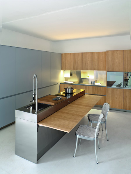 les tendances en cuisine pour 2012 bilan eurocucina inspiration cuisine. Black Bedroom Furniture Sets. Home Design Ideas