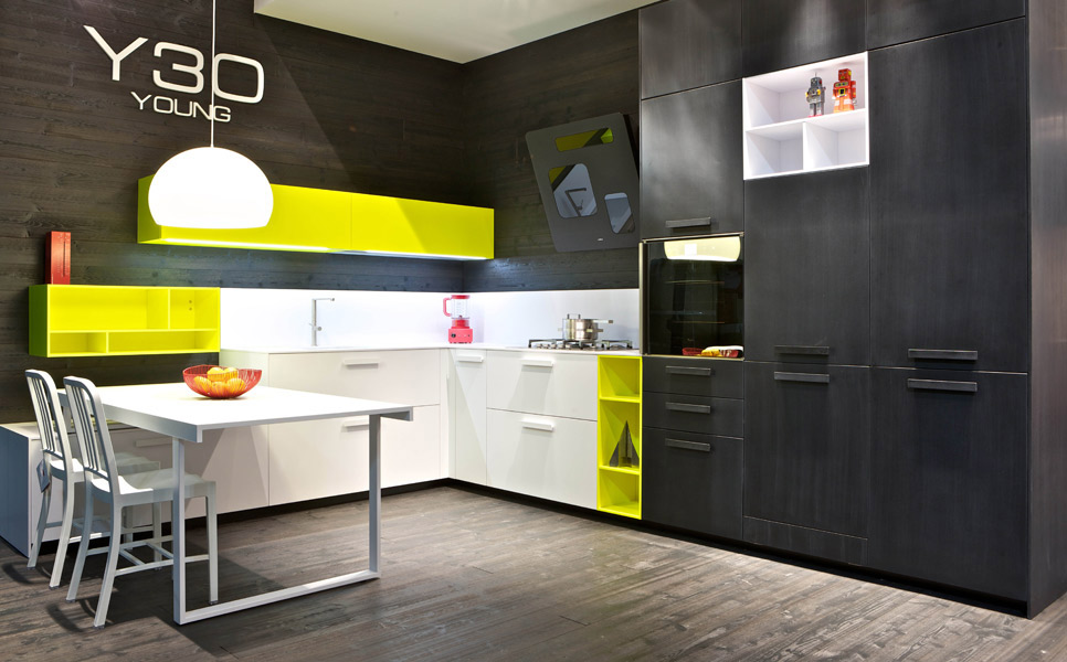 id es couleurs pour sa cuisine inspiration cuisine. Black Bedroom Furniture Sets. Home Design Ideas