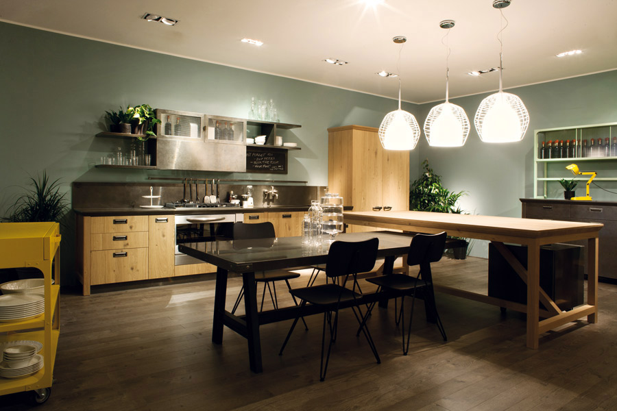 Cuisine vintage : Collection Successful Living from Diesel pour Scavolini