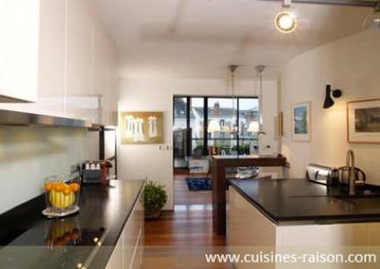 Cuisines raison domicile inspiration cuisine for Quel sol pour une cuisine ouverte