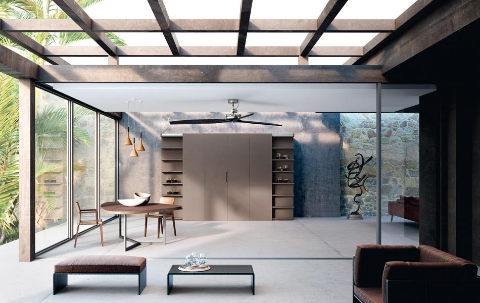 la cuisine cach e de lineaquattro inspiration cuisine. Black Bedroom Furniture Sets. Home Design Ideas