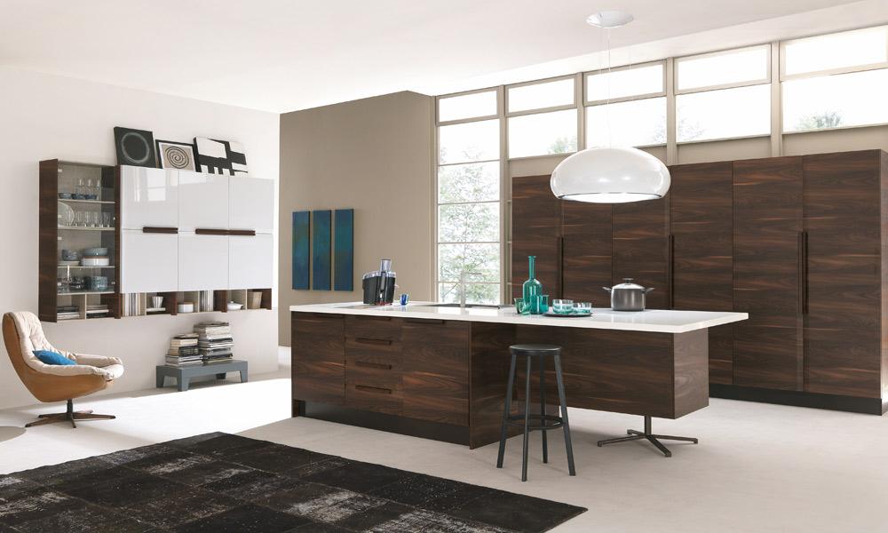 Cuisine en bois cinq mod les pour s 39 inspirer for Modele cuisine blanc bois