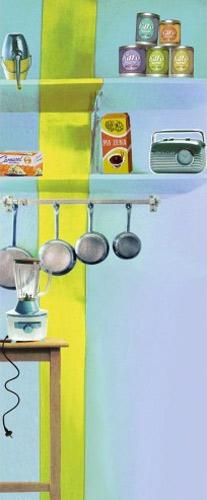 Déco cuisine : stickers Fleux