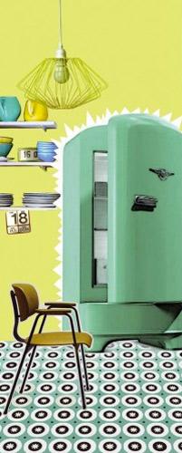 D co cuisine des stickers d 39 inspiration 50 39 s for Deco cuisine 50 s