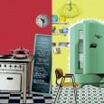 Déco cuisine : des stickers d'inspiration 50's