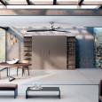 studio opal pura de lineaquattro inspiration cuisine. Black Bedroom Furniture Sets. Home Design Ideas