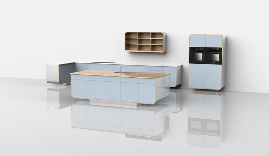 Air : la cuisine en aluminium de Devol