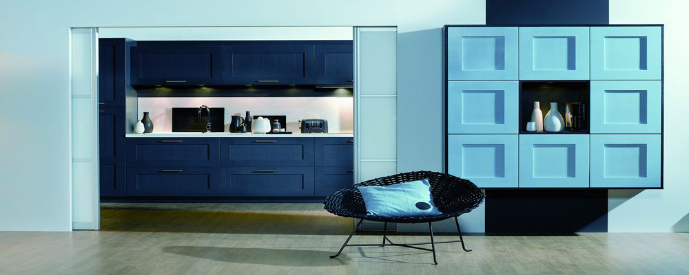 bleu lagon pour une cuisine de charme inspiration cuisine. Black Bedroom Furniture Sets. Home Design Ideas