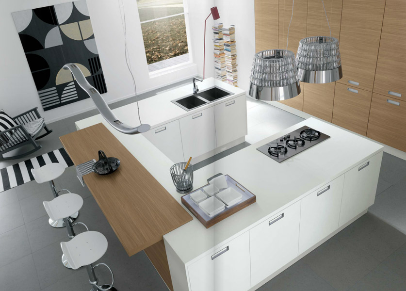venus la cuisine beaut de zecchinon cucine. Black Bedroom Furniture Sets. Home Design Ideas