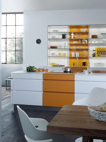 Xtend les tag res lumineuses de leicht inspiration cuisine for Cuisine leicht prix