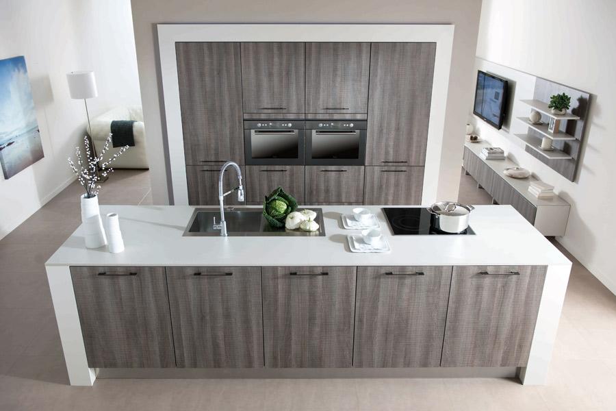cuisine en bois 4 fa ons de la moderniser inspiration cuisine. Black Bedroom Furniture Sets. Home Design Ideas