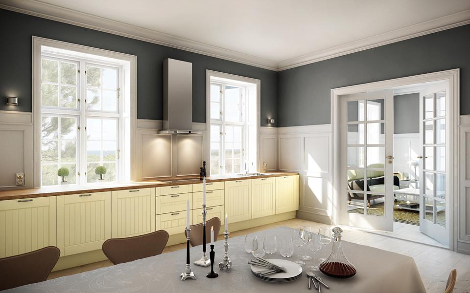 cuisine style romantique deco chambre romantique chic cuisine blanche ouverte decoration de. Black Bedroom Furniture Sets. Home Design Ideas