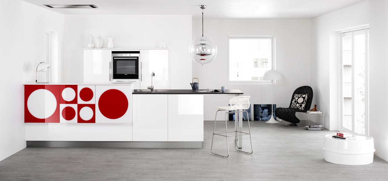 La cuisine verner panton by kvik inspiration cuisine for Cuisine kvik
