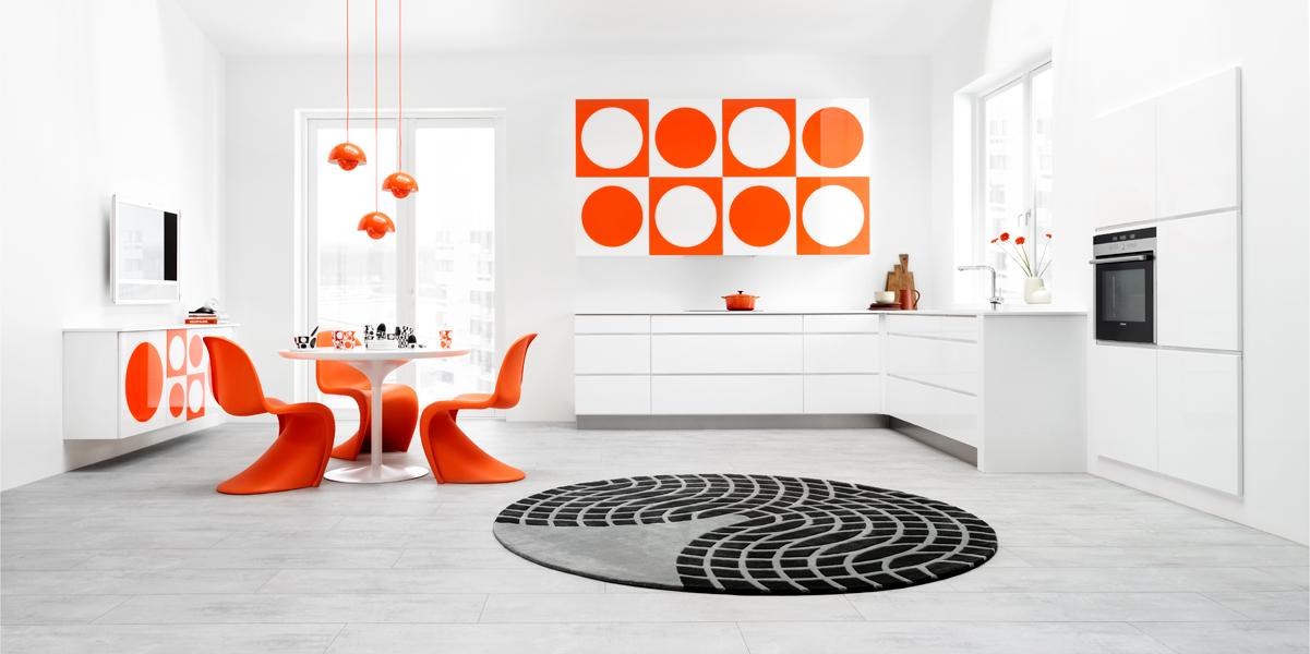 la cuisine verner panton by kvik inspiration cuisine. Black Bedroom Furniture Sets. Home Design Ideas