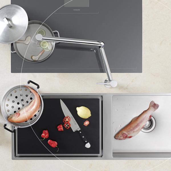 Robinets nouveaut s 2013 inspiration cuisine - Robinet bulthaup ...