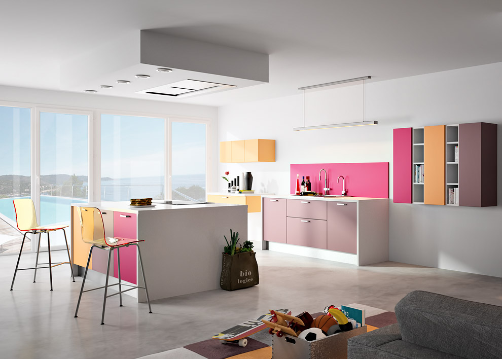 pantone 2014 les cuisines annoncent la couleur inspiration cuisine. Black Bedroom Furniture Sets. Home Design Ideas