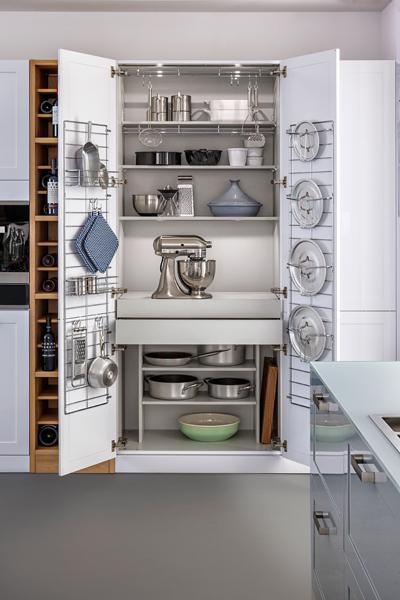Des rangements malins pour une cuisine pratique - Rangement ustensile cuisine ...