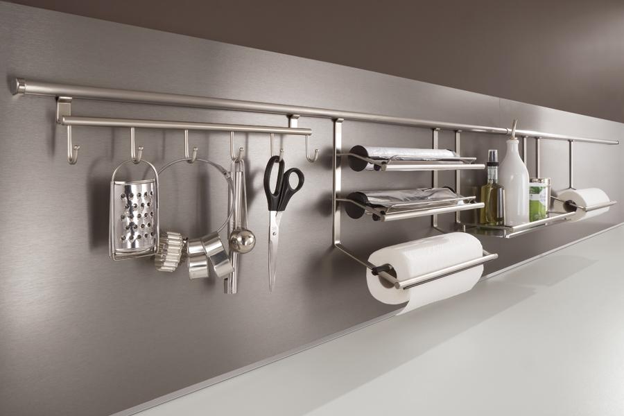 Des rangements malins pour une cuisine pratique inspiration cuisine - Credence adhesive pas cher ...