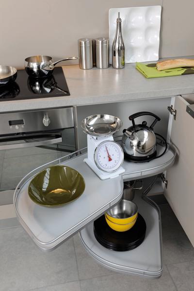 Des rangements malins pour une cuisine pratique - Meuble cuisine cuisinella ...