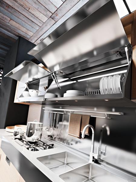Des rangements malins pour une cuisine pratique inspiration cuisine for Portes meubles cuisine lapeyre