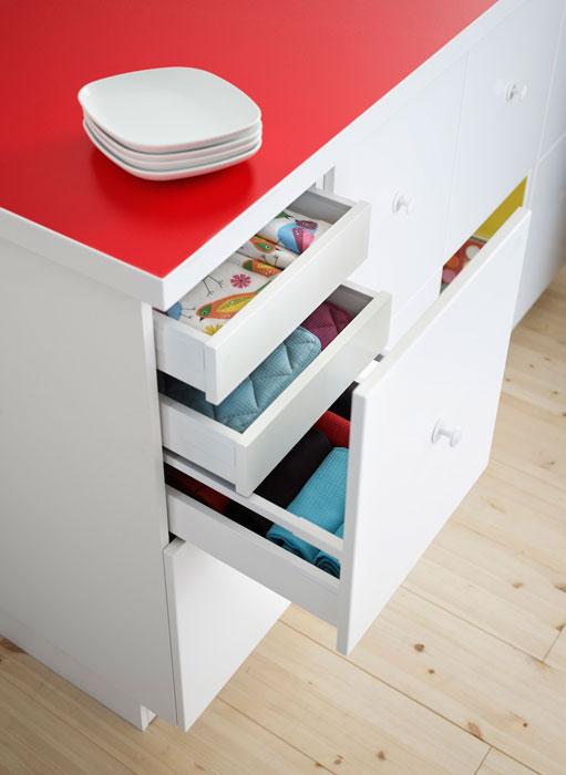 la cuisine blanche prend des couleurs inspiration cuisine. Black Bedroom Furniture Sets. Home Design Ideas