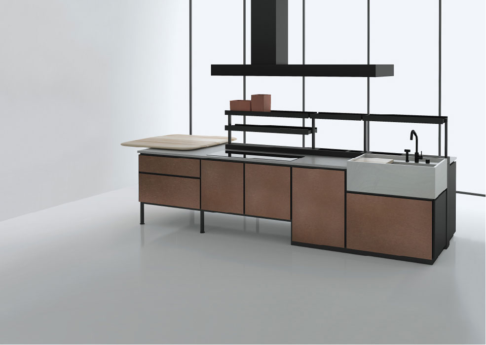la premi re cuisine de patricia urquiola pour boffi inspiration cuisine. Black Bedroom Furniture Sets. Home Design Ideas