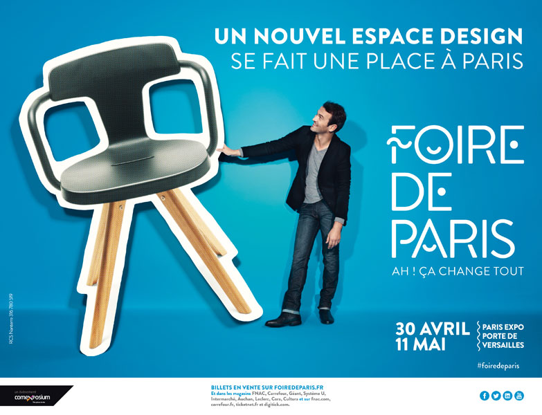 50 places gratuites pour la foire de paris 2014. Black Bedroom Furniture Sets. Home Design Ideas