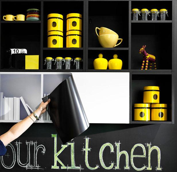 changer le style de votre cuisine en quelques minutes. Black Bedroom Furniture Sets. Home Design Ideas