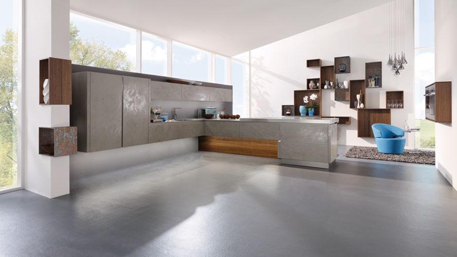 Cuisines design les nouveaux mat riaux inspiration cuisine for Inspiration cuisine design