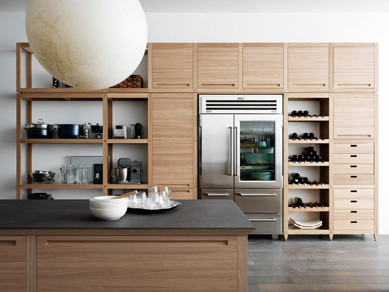 sinetempo la cuisine artisanale de valcucine inspiration cuisine. Black Bedroom Furniture Sets. Home Design Ideas
