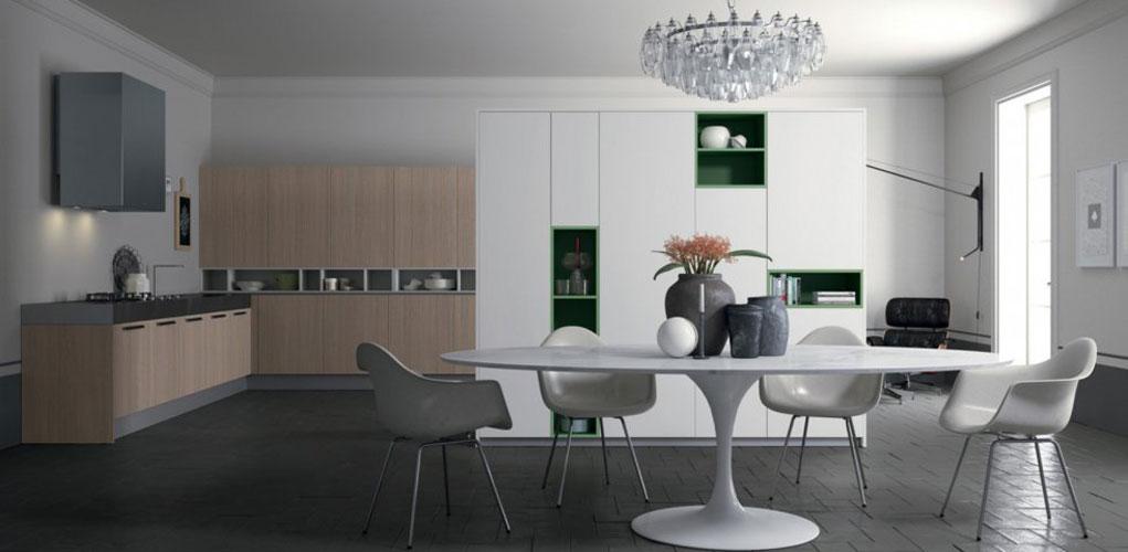 les niches de couleur pour booster sa cuisine inspiration cuisine. Black Bedroom Furniture Sets. Home Design Ideas