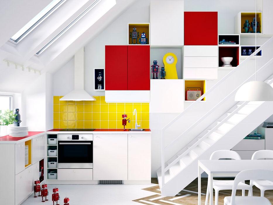 Les niches de couleur pour booster sa cuisine inspiration cuisine - Ikea creer sa cuisine ...