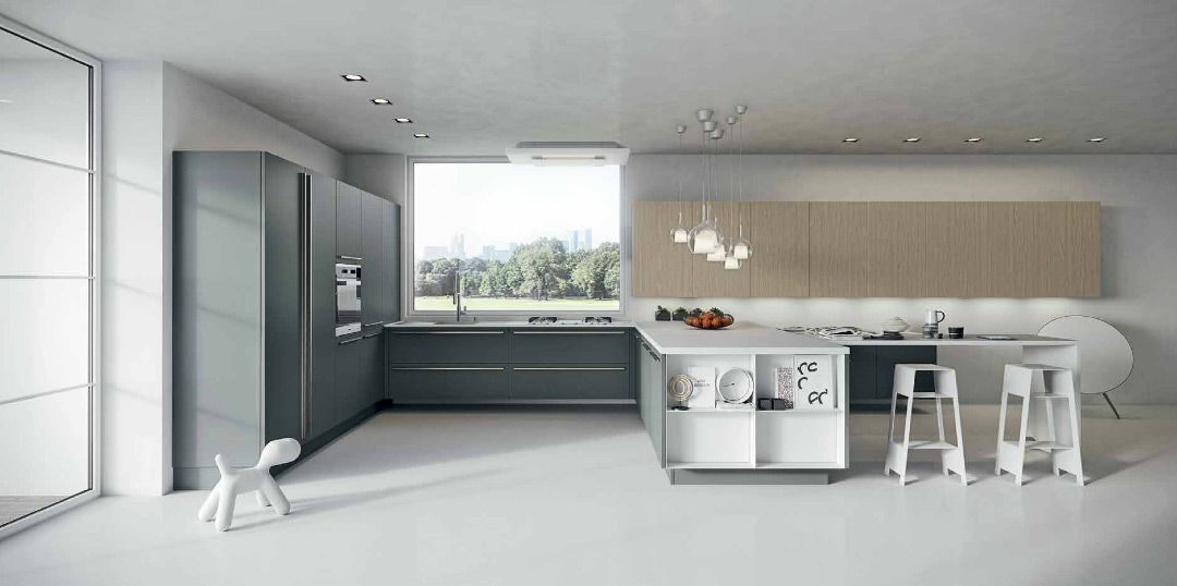 Cuisine ak05 la nouveaut d 39 arrital inspiration cuisine - Table de cuisine 6 personnes ...