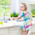Les robinets tactiles, un jeu d'enfant