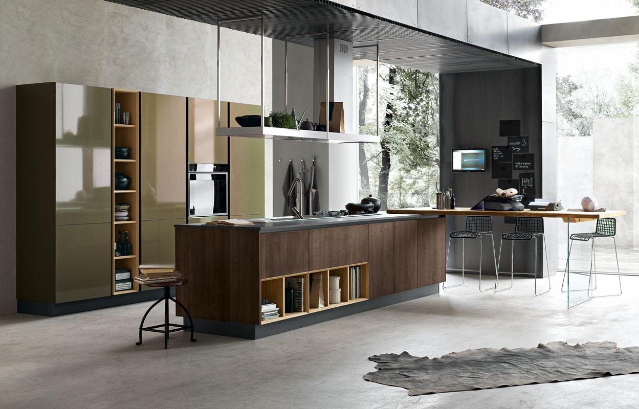 Couleur Peinture Grenat : Indogatecom  Decoration Interieur Salon Cuisine Ouverte