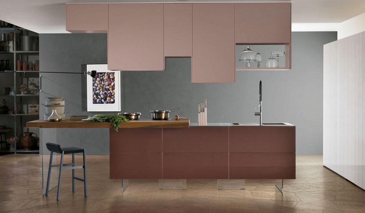 La couleur marsala dans la cuisine inspiration cuisine for Cuisine store
