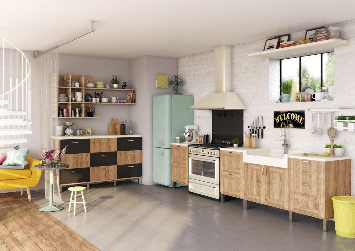 Cinq cuisines l 39 esprit fifties inspiration cuisine - Inspiration cuisine ...