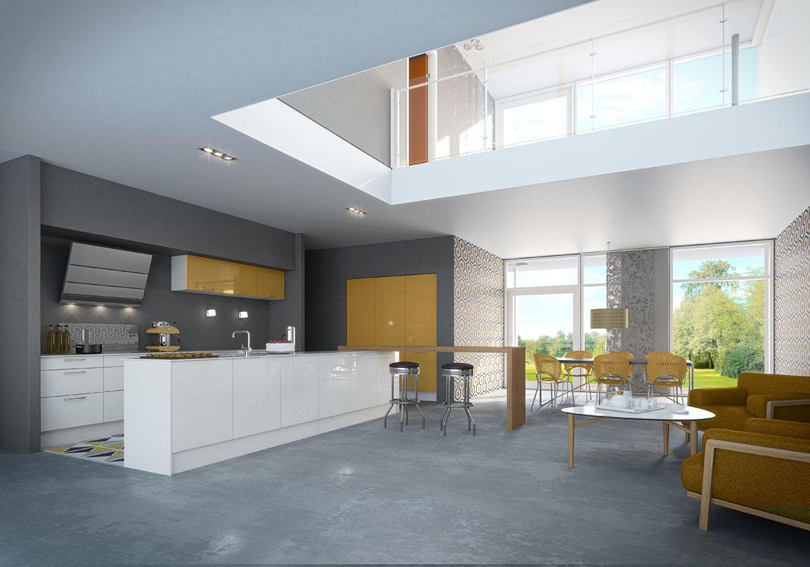 cinq cuisines l 39 esprit fifties inspiration cuisine. Black Bedroom Furniture Sets. Home Design Ideas