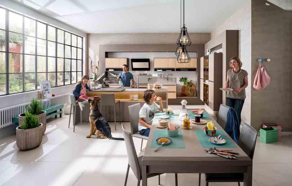 Recevoir dans sa cuisine inspiration cuisine for Cuisine familiale