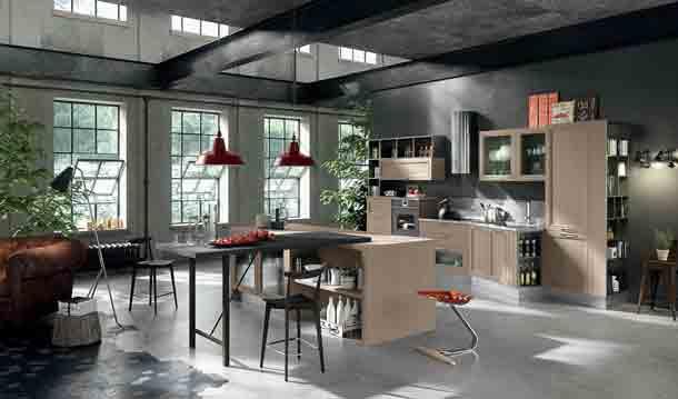 cuisines avec lot central inspiration cuisine. Black Bedroom Furniture Sets. Home Design Ideas