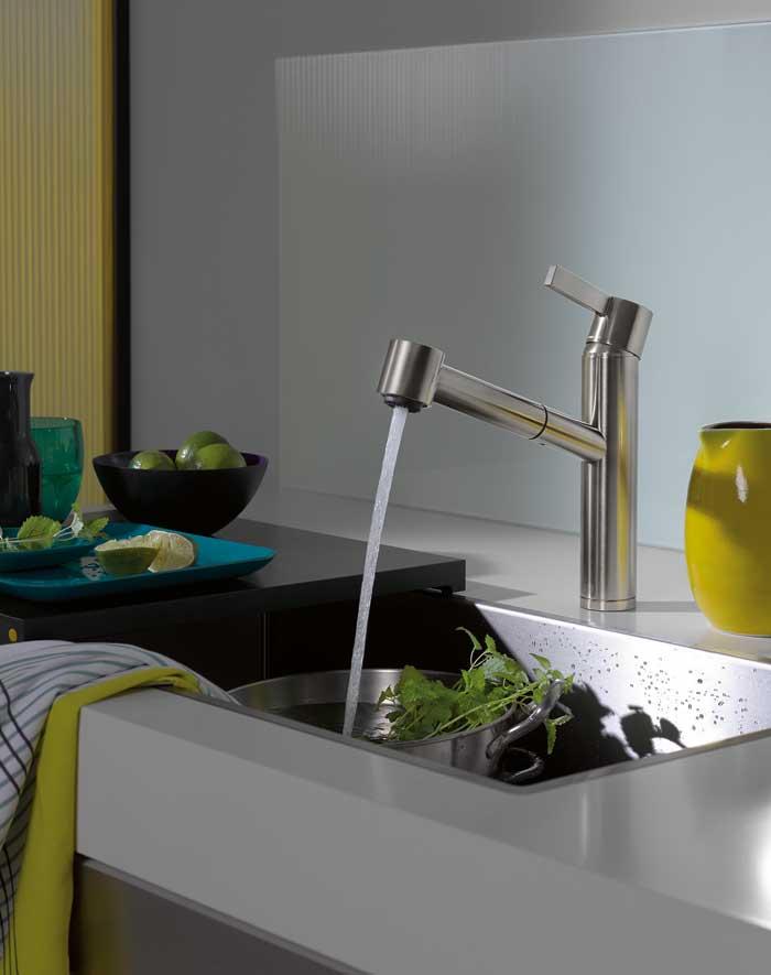 Flexible douchette robinet cuisine accessoires cps s - Robinet cuisine qui fuit ...