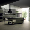 La cuisine industrielle Diesel Open Workshop de Scavolini