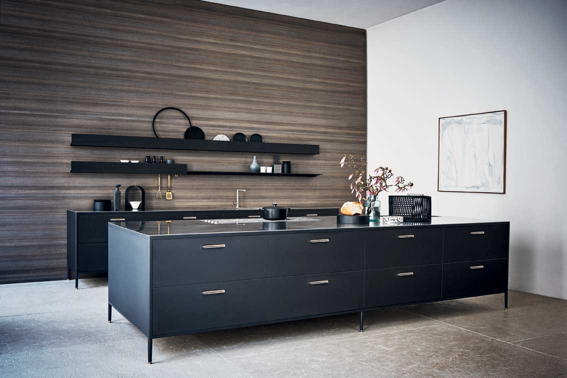 unit la cuisine mobile de cesar inspiration cuisine. Black Bedroom Furniture Sets. Home Design Ideas