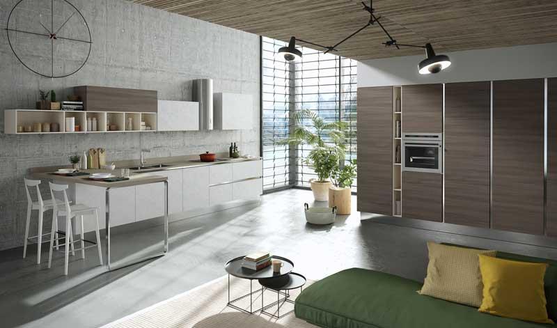 Mia la nouvelle cuisine personnalisable d 39 aran cucine - Aran cucine italy ...