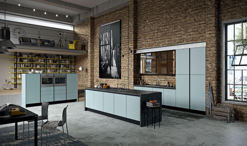 la cuisine quadro d 39 aran cucine la sauce industrielle. Black Bedroom Furniture Sets. Home Design Ideas