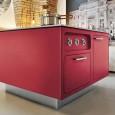 Abimis : la cuisine en acier ose la couleur