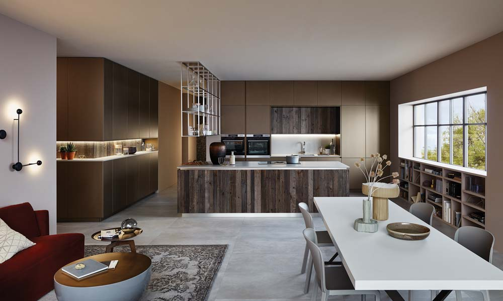 Lounge, la nouvelle cuisine modulaire de Veneta cucine | Inspiration ...
