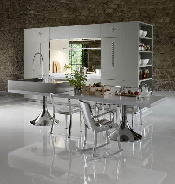 Starck by Warendorf Duality, cuisine design, cuisine aménagée