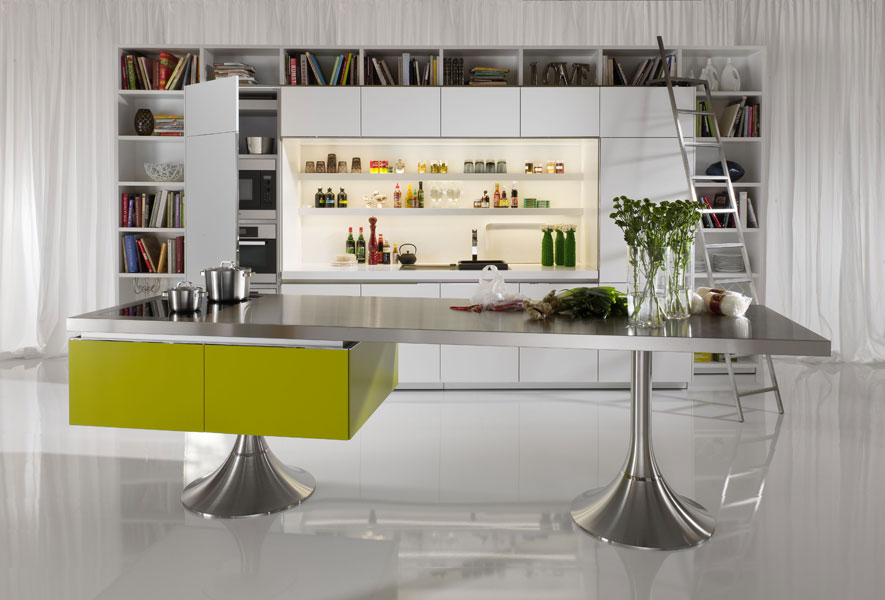 Starck by Warendorf Library, cuisine design, cuisine aménagée