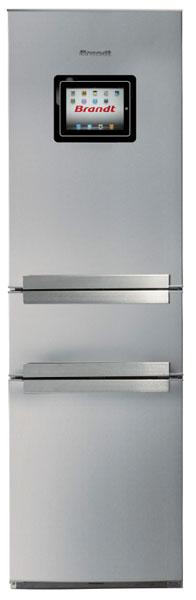 I-Freezone de Brandt, frigo iPad, réfrigérateur pour iPad, réfrigérateur hi-tech